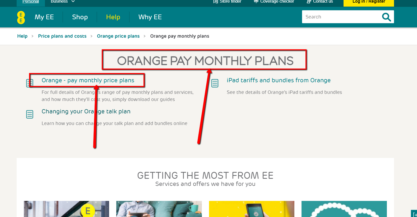 Orange Monthly