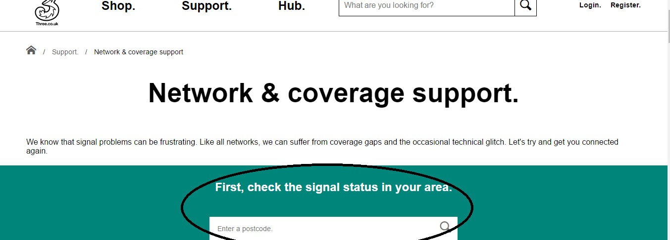 3 Network Coverage