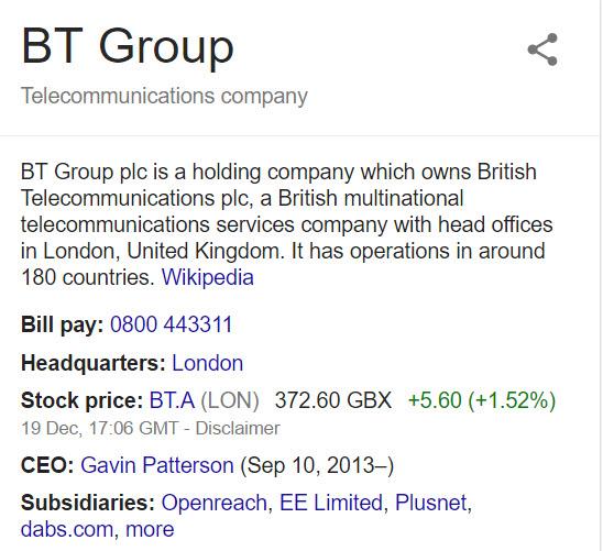 bt contact info