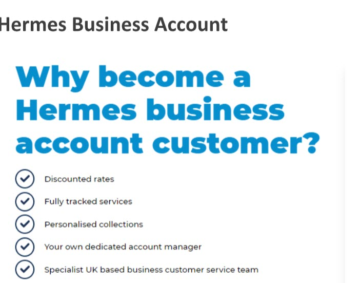 myHermes Business Account
