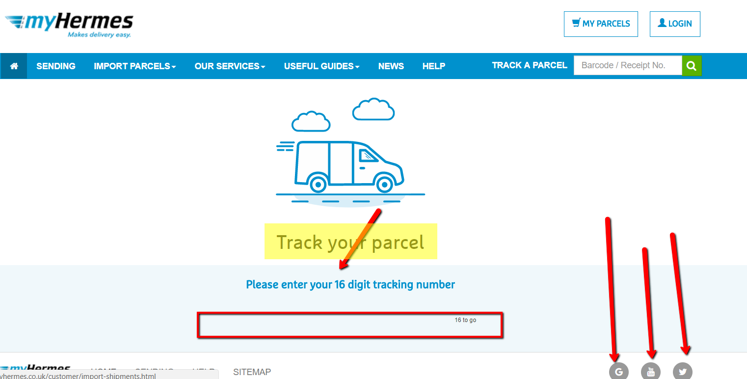 myhermes tracking