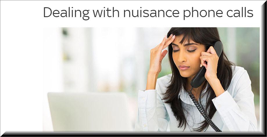 nuisance phone calls