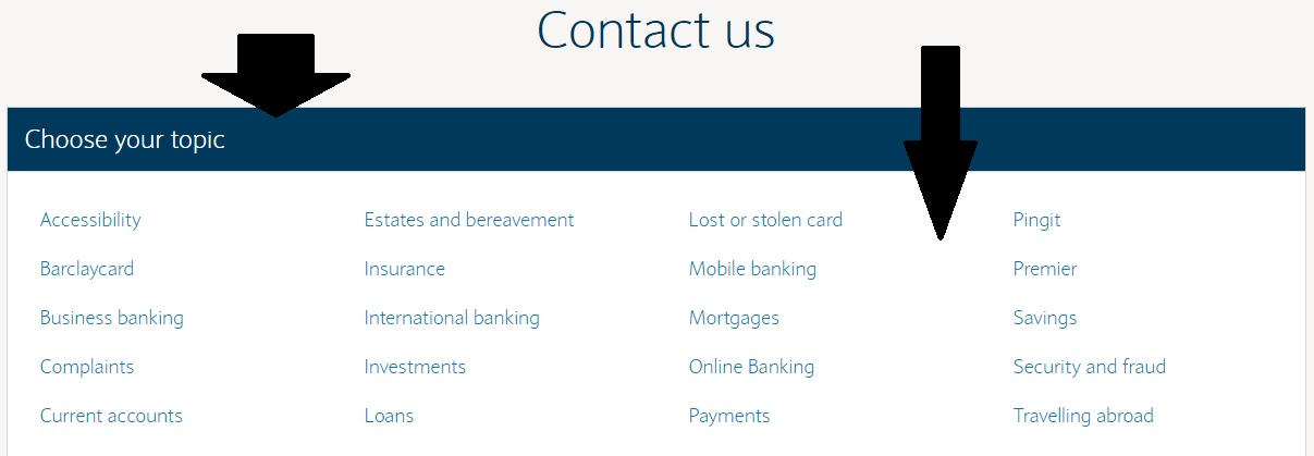 Barclays Customers Contact Phone Number 0800 400 100 Free