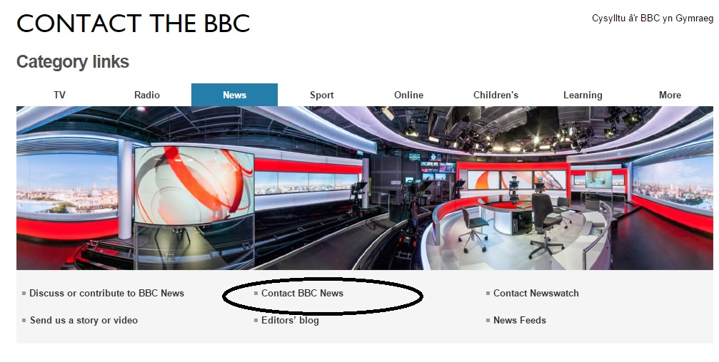 BBC News number