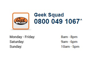 Carphone Warehouse Geek Squad number