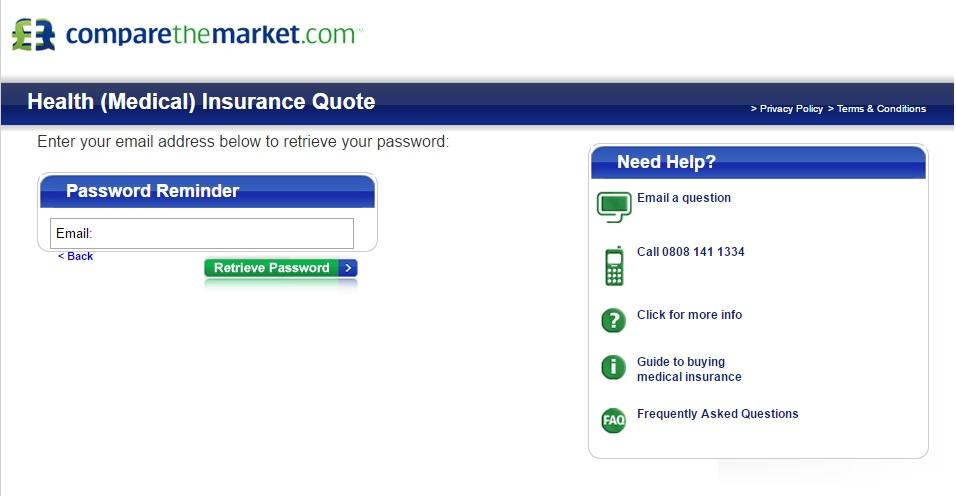 Comparethemarket over 50 life insurance
