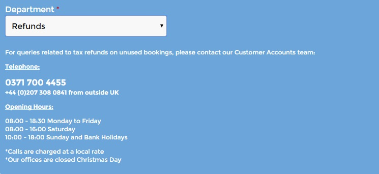 Flybe Manage Booking