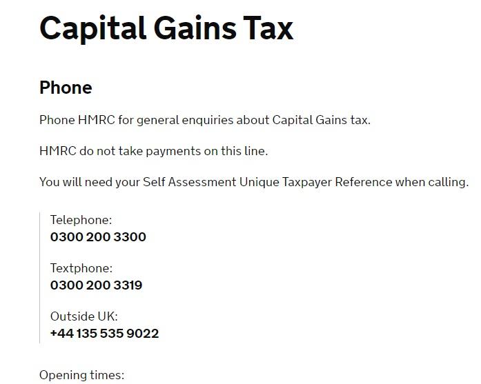 Hmrc customer service phone number 0300 790 6802 hmrc capital gains tax contact spiritdancerdesigns Gallery