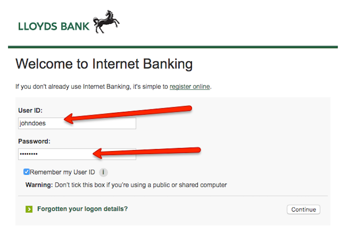 Cancel Lloyds Bank Account Online
