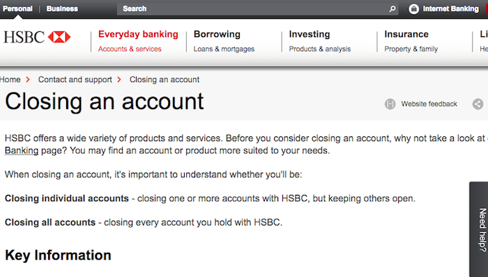 How to Cancel HSBC - UK Contact Numbers