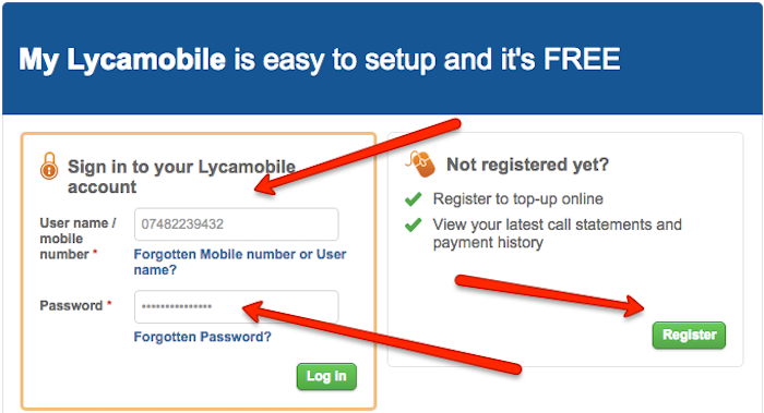 Lycamobile cancel account