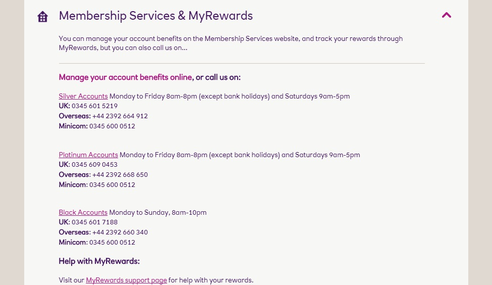 Natwest My Rewards Contact