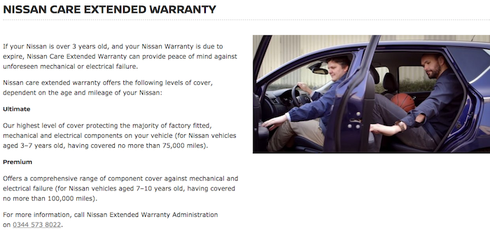 Cancel Nissan extended warranty