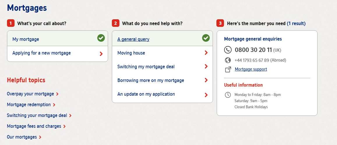 Nationwide Mortgages Contact Number