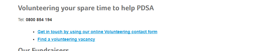 PDSA Assistance Free Number