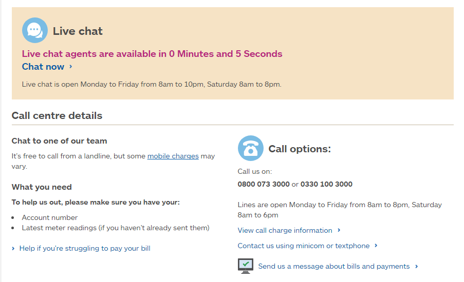 npower customers contact number free call  0800 073 3000 help