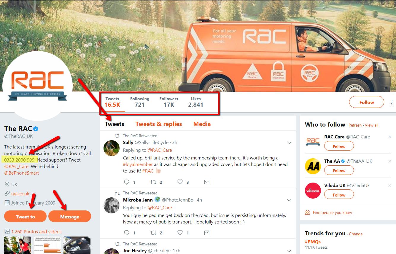 RAC Social Media