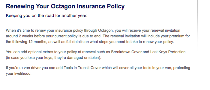 How To Cancel Renewal Car Insurance Octagon