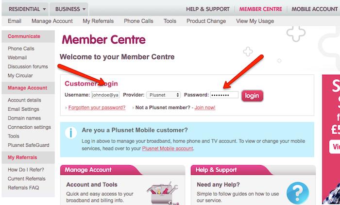 Cancel Plusnet account