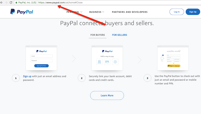 how to know your paypal account number