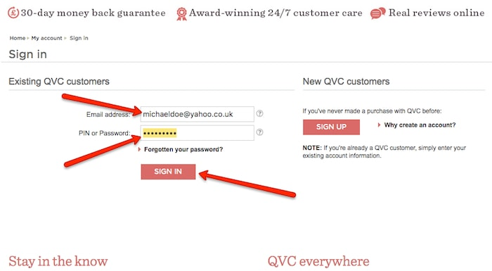 QVC Cancel Account