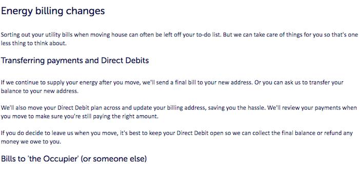 Cancel SSE payments direct debits