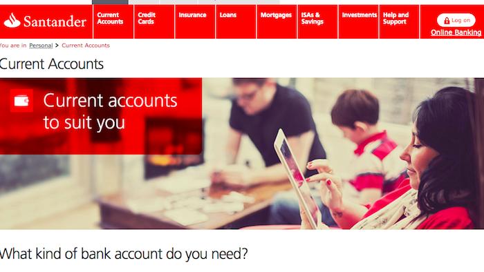 Santander Current Account