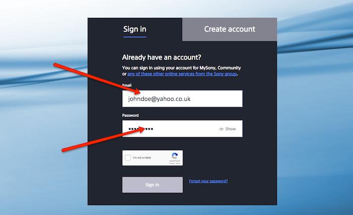 Cancel Sony UK account