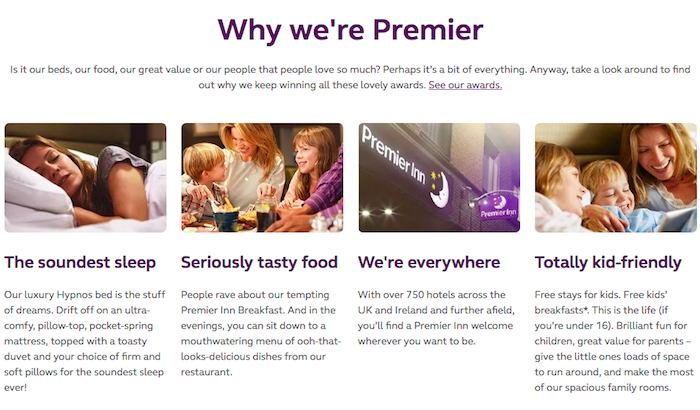 Amend Premier Inn Booking