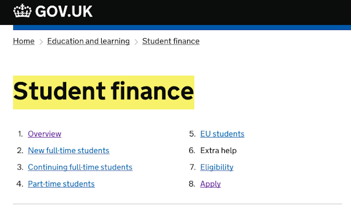 Student Finance UK