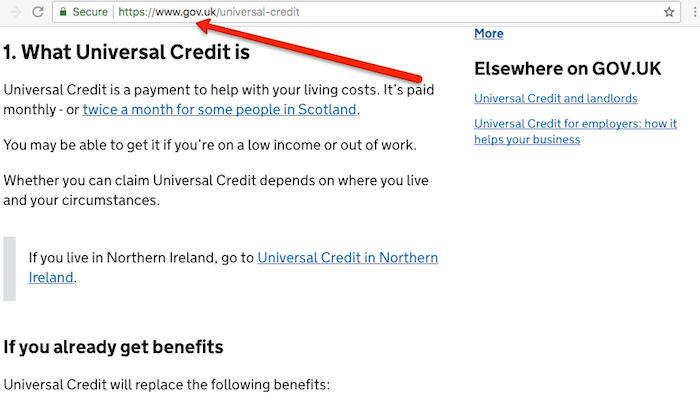 Universal Credit UK Homepage
