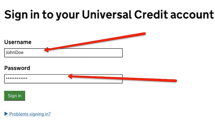 Universal Credit Uk Sign In