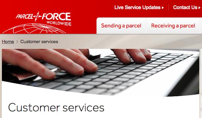 Parcelforce claims