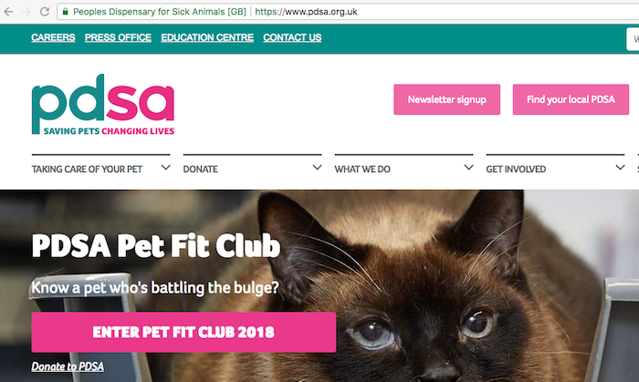 PDSA Homepage