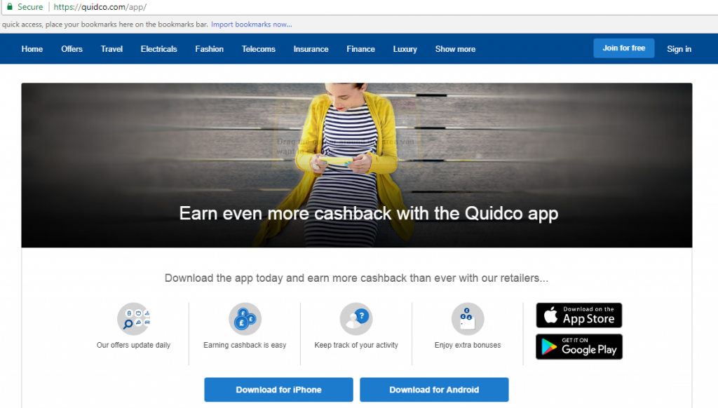 How to cancel Quidco: Uninstall the Quidco app