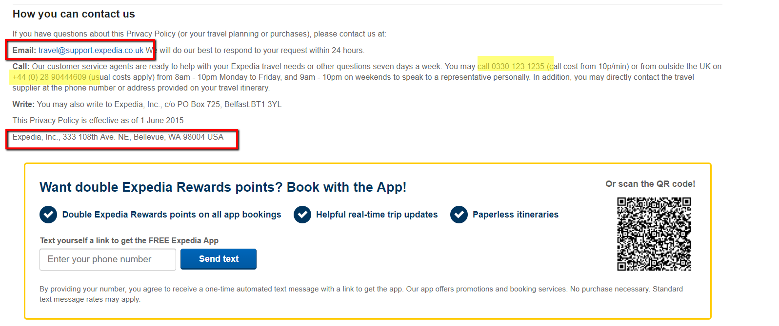 The fastest way to contact Expedia, the best Expedia phone number available and their other best contact information, with tools and instructions for skipping the wait and resolving your issue quickly, as well as tips for specific popular customer service issues and reviews, advice and experien.