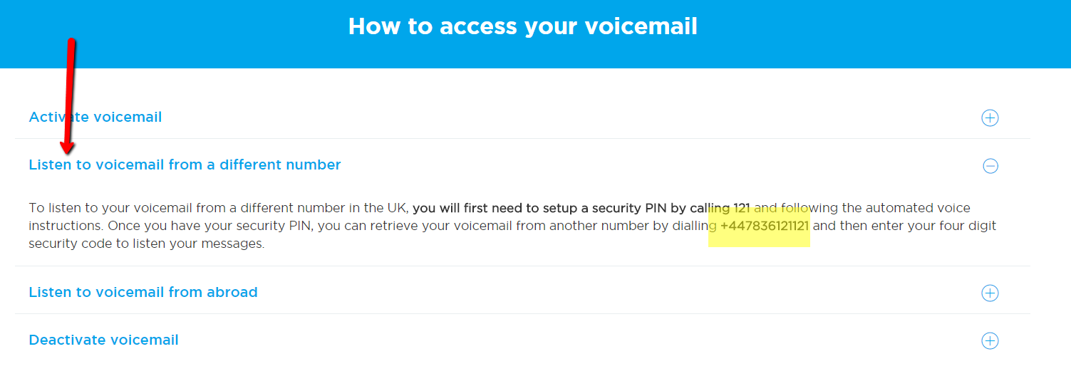 lebara mobile voicemail