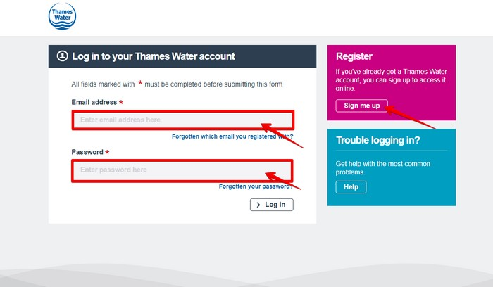 Thames Water Login
