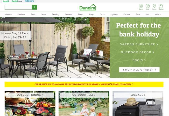 Dunelm Website