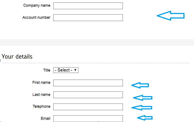 How to cancel an account page details