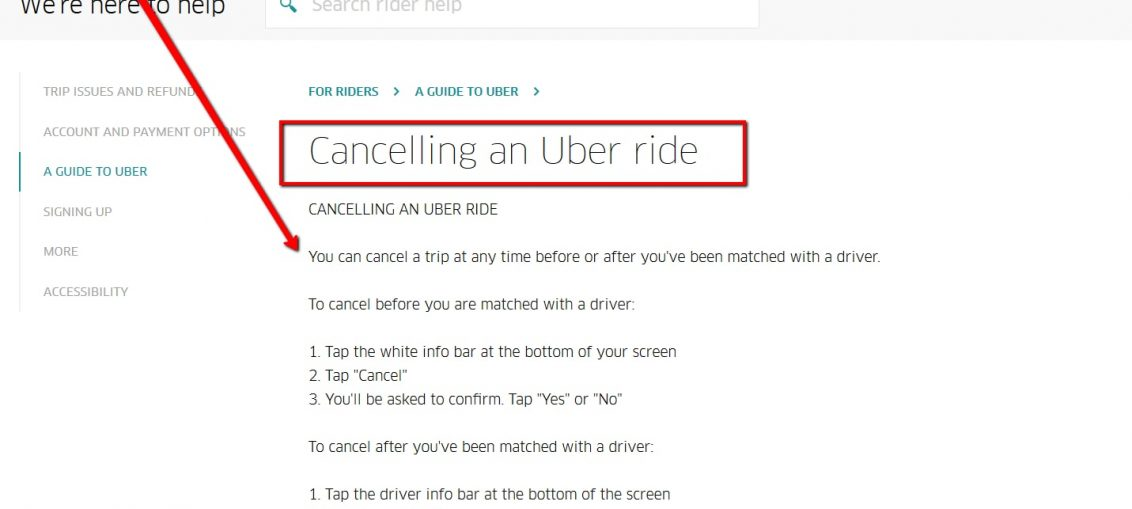 How To Cancel Uber >> How To Cancel Uber Uk Uk Contact Numbers
