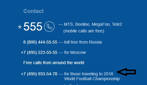 Aeroflot ticket booking contact