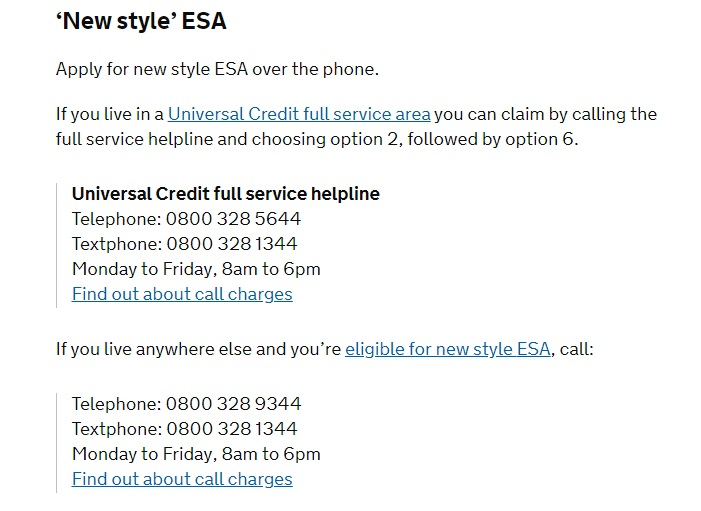 Esa Customers Contact Number Free Phone 0800 169 0310
