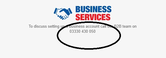 Screwfix Business Service Customer Contact
