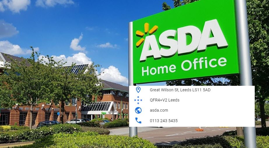 Asda head office